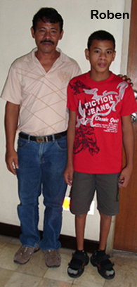 Roben and his Father