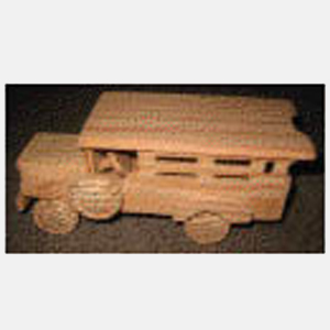 Painted Wooden Jeepney Mini Series – Large